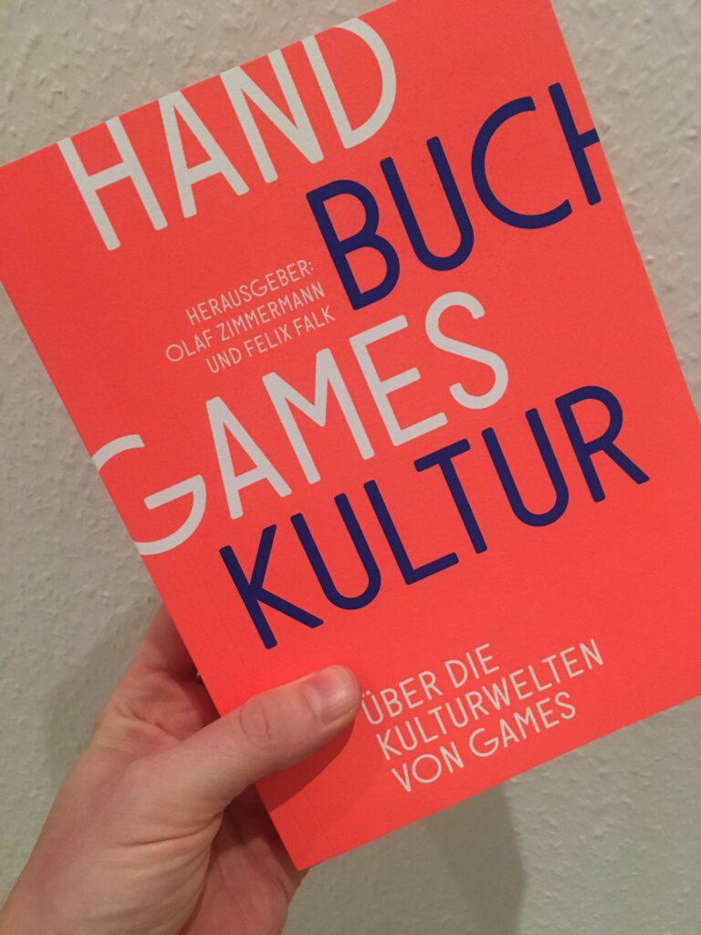 Cover des Handbuchs Gameskultur